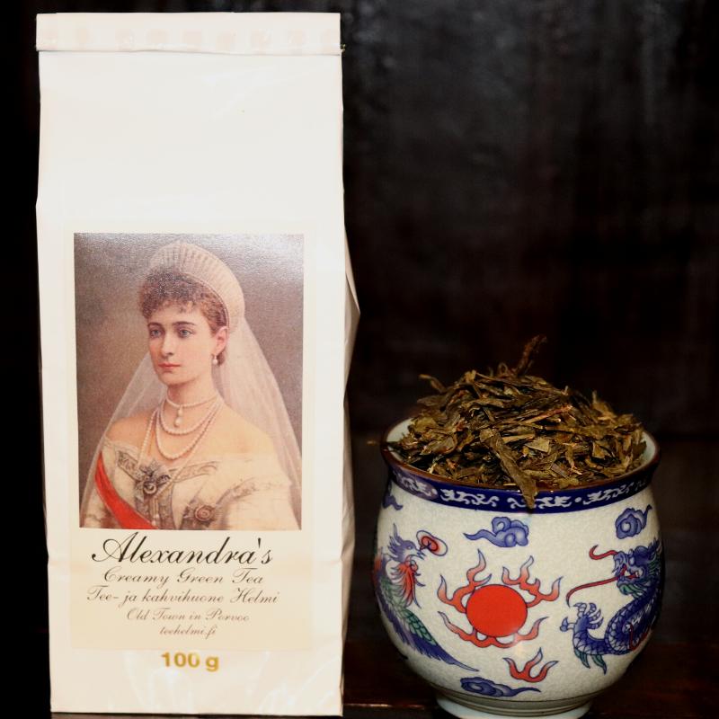Kermalla maustettu vihreä tee – creamy