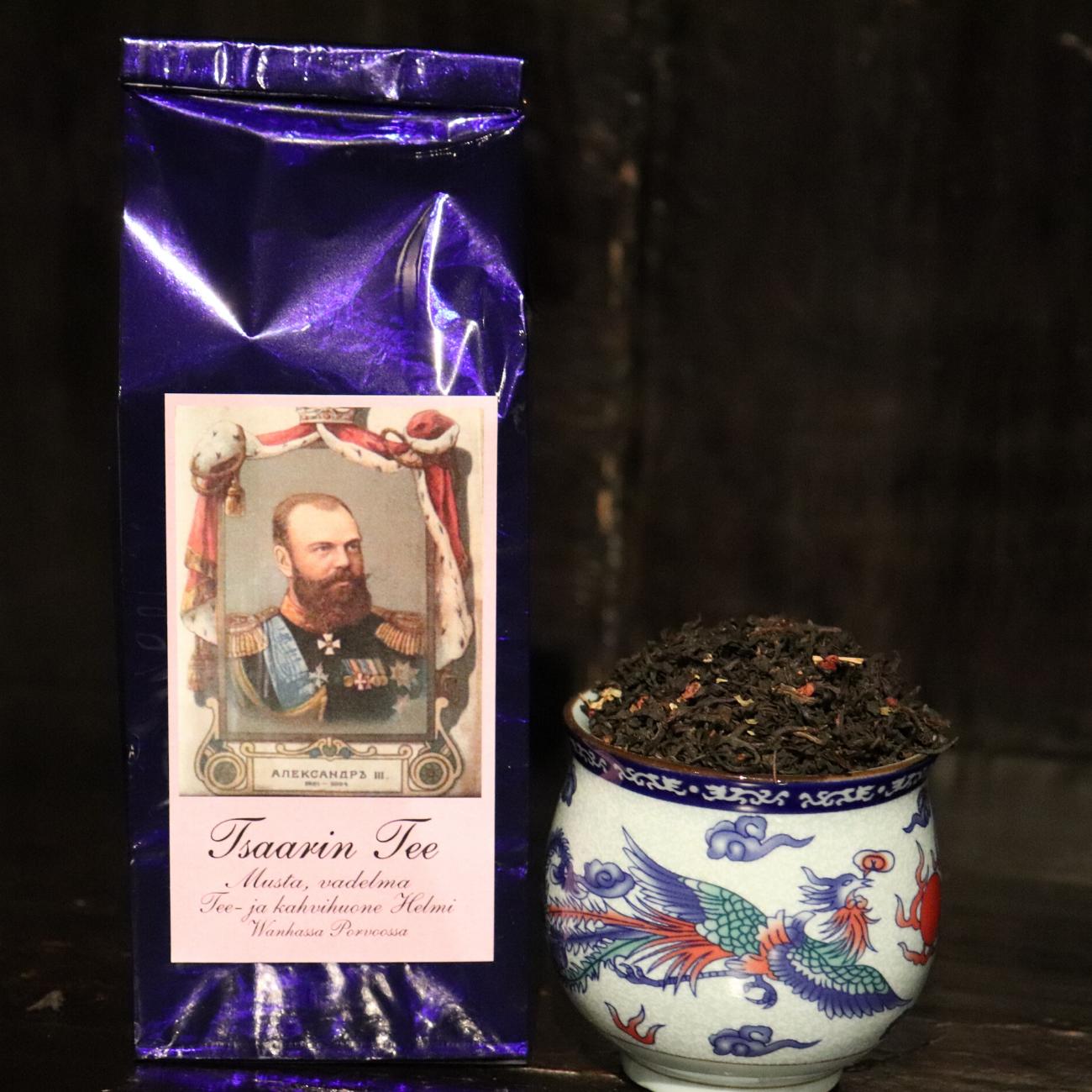 Tsaarin tee – vadelmainen musta tee