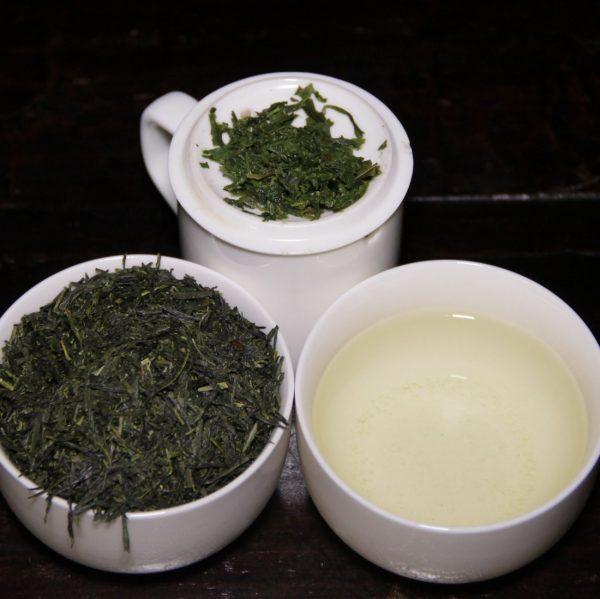 Gyokuro japanilainen vihreä tee, irto