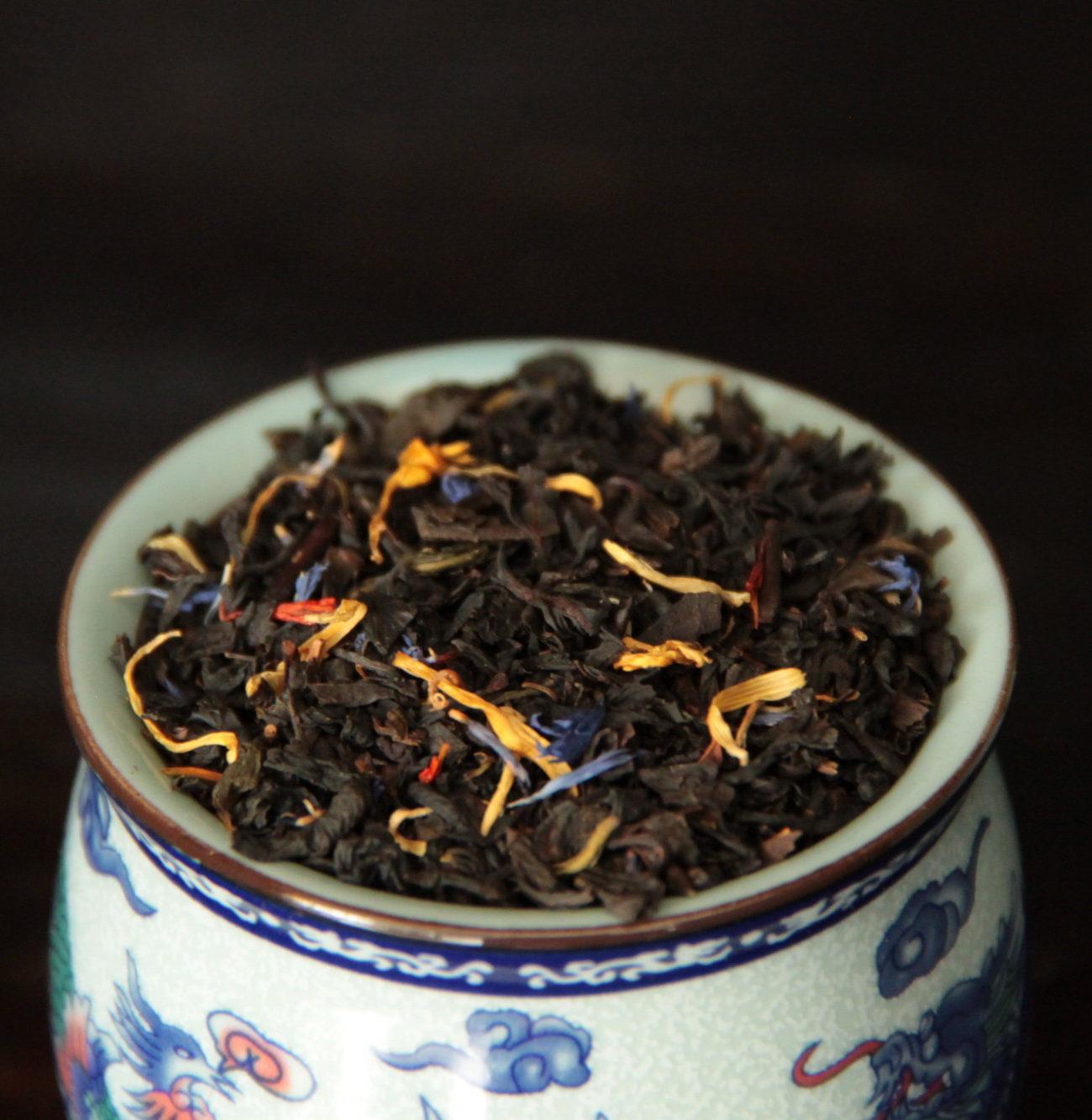 Musta maustettu tee, Casanova