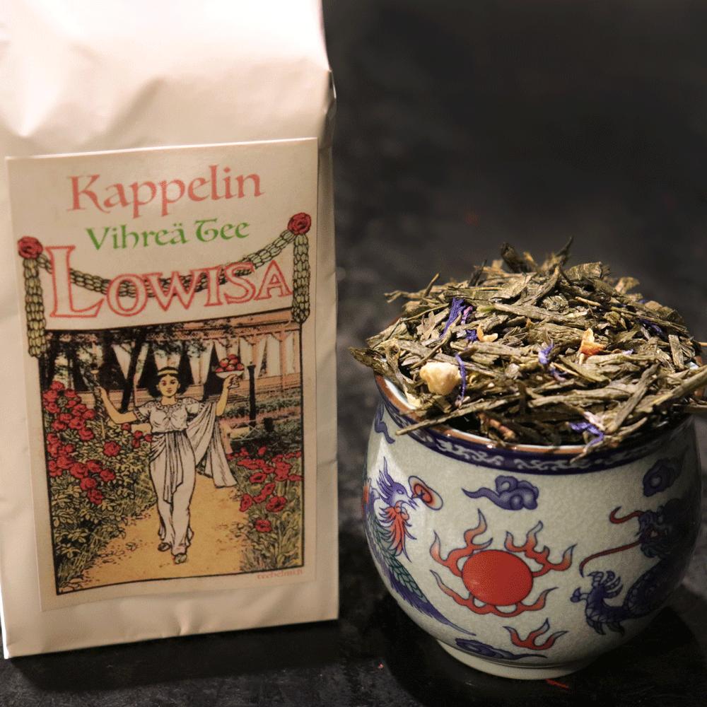 Kappelin vihreä maustettu tee