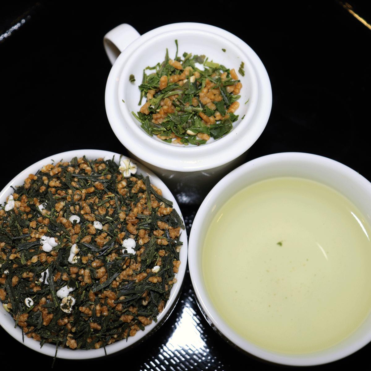 Genmaicha-vihreä-tee-japanilainen-luomu-tee