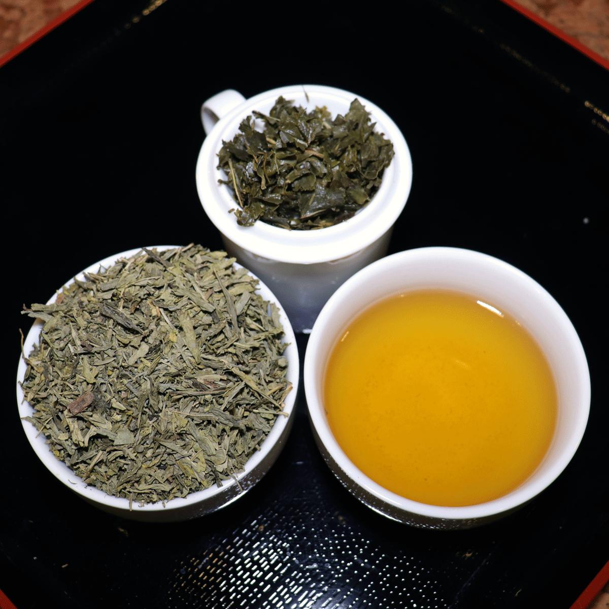 Kofeiiniton-kiinalainen-vihreä-tee-sencha